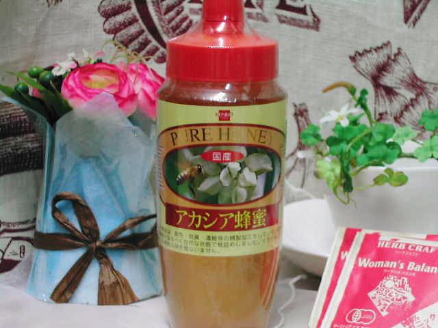 精製していない純粋ハチミツ【国産アカシア蜂蜜】
