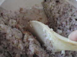 鍋底のご飯がきれいに取れる【炊飯用土鍋3合土鍋】