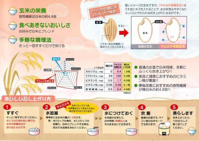【やわらか玄米】の栄養と手軽な調理法
