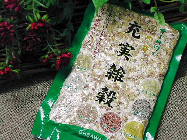 ミネラルたっぷり国産雑穀【オーサワの充実雑穀】オーサワジャパン