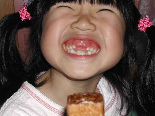 前歯がなくても美味しいふがし