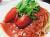 ホールトマトのスパゲティ